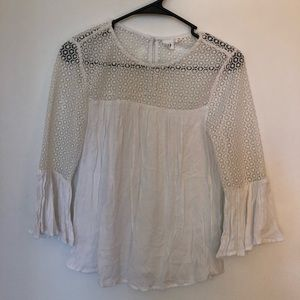 GAP Flowy Embroidered Blouse